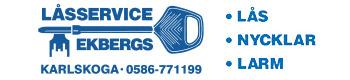 Ekbergs Låssevice-logo