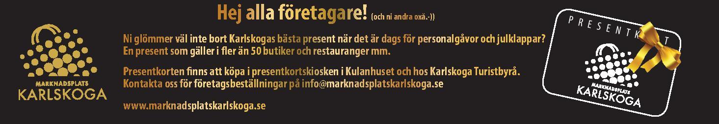 Marknadsplats Karlskoga -logo